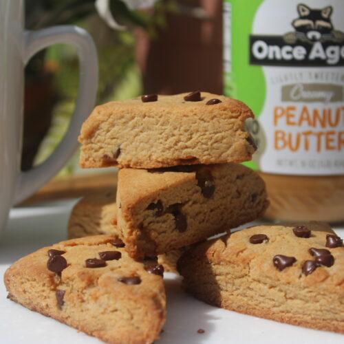 peanut butter scones